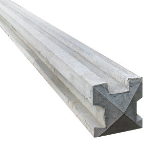 7' Concrete 3-way Post (2.1m)