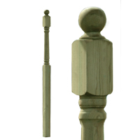 Decking Newel Posts picture