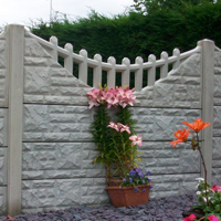 Decorative Gravel Boards (tops) picture