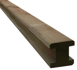 Slotted Wooden Posts picture