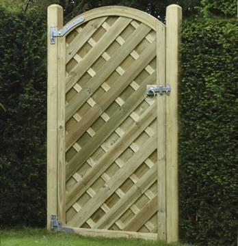 V Arch Gate