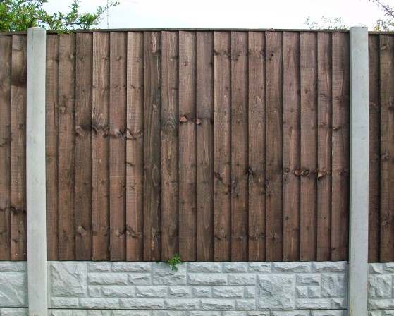 Vertilap Fence Panels (Tanalised Brown) picture