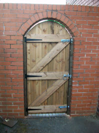 Tongue and Groove Gates