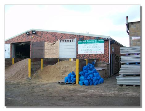 Bentinck Fencing yard