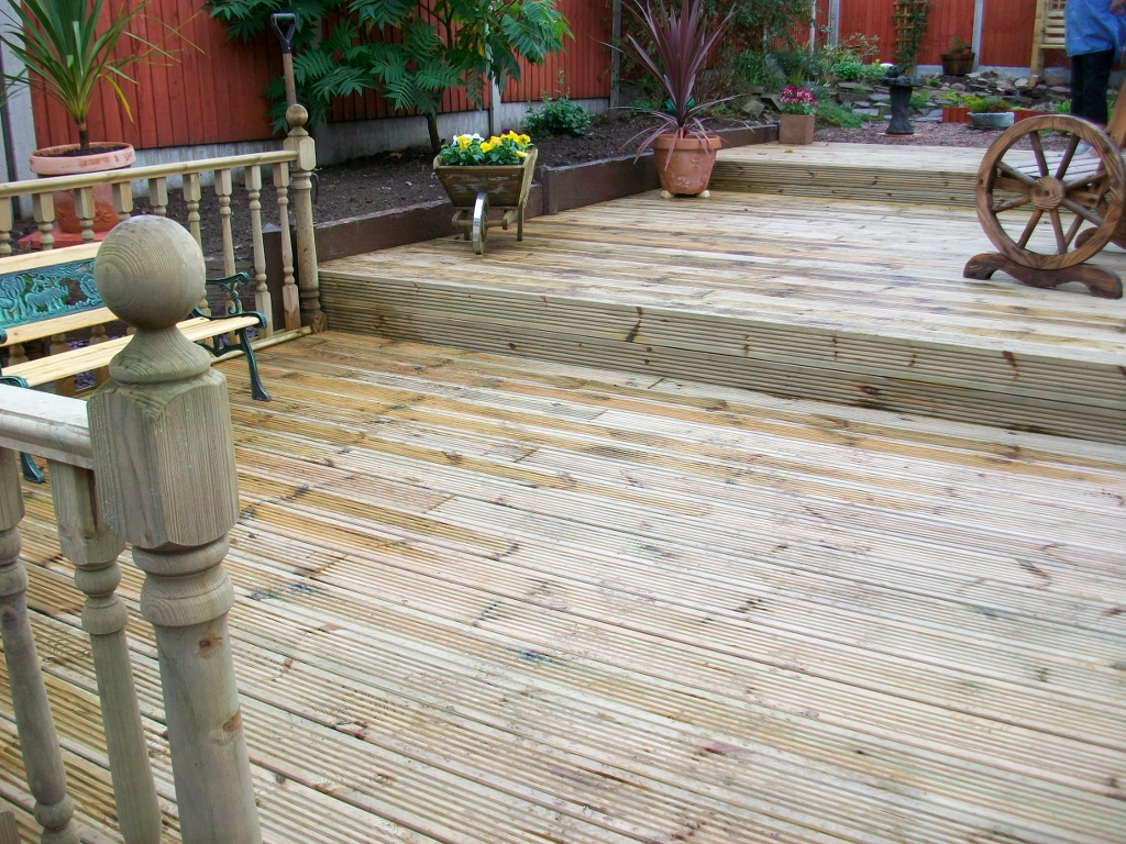Decking board 12 for 4 8 meter decking boards