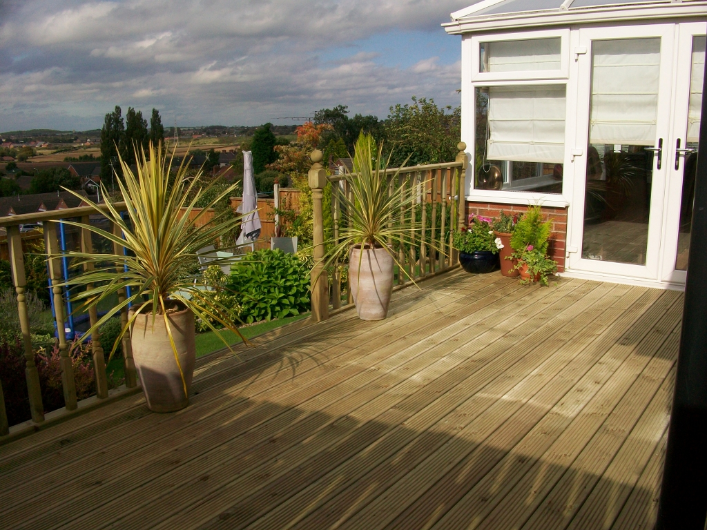 Decking board 2 for 4 8 meter decking boards