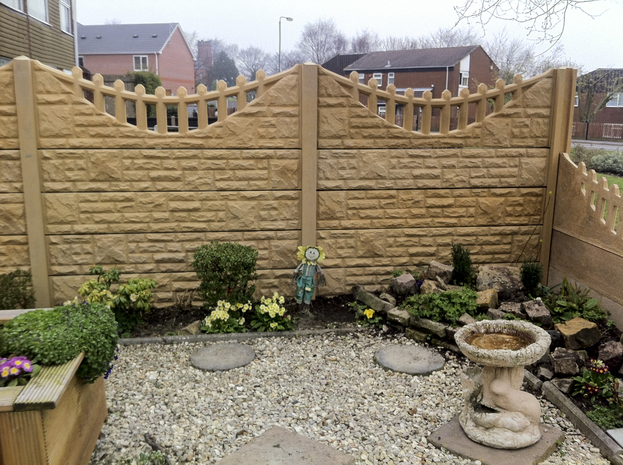 Decorative Gravel Boards Tops Bentinck Fencing