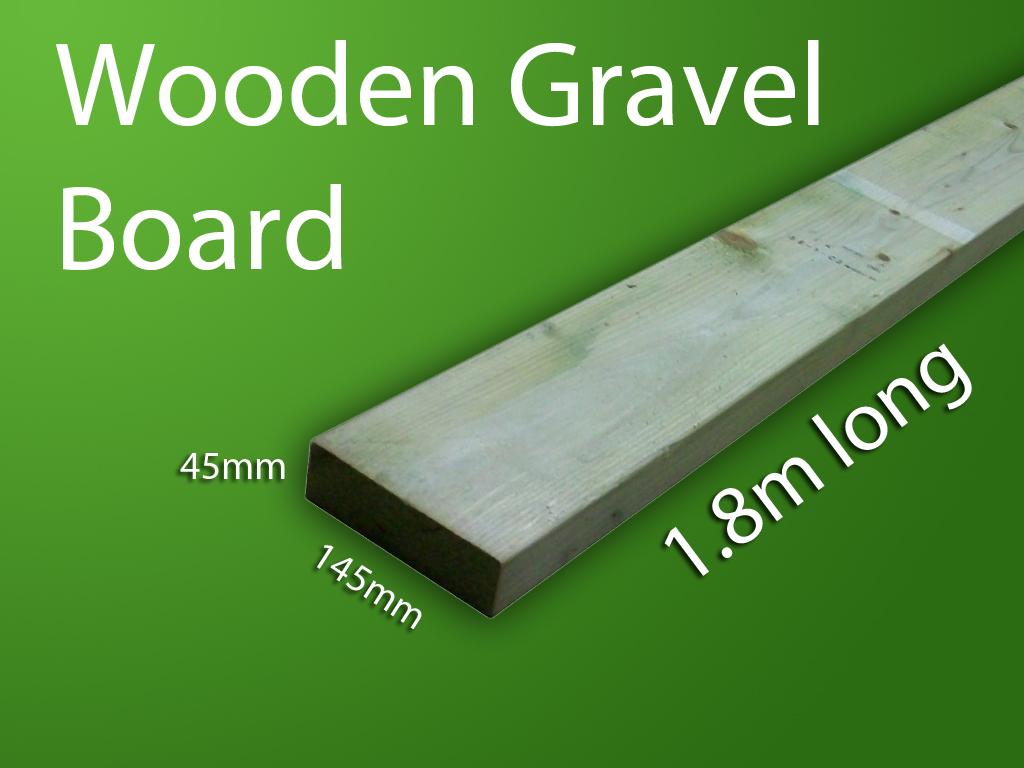 wooden gravel boards bentinck fencing. Black Bedroom Furniture Sets. Home Design Ideas