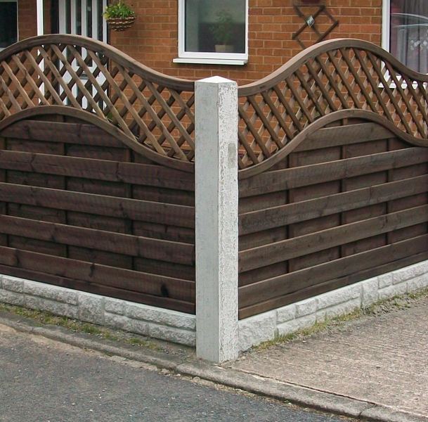 Fortress Concrete Fence/wall - Buy Precast Concrete Product on