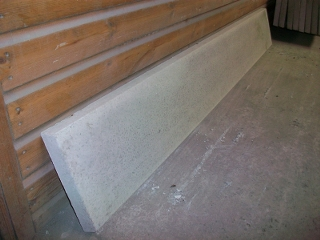 12 inch x  7' LONG Smooth Gravel Board 1