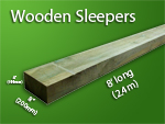 Wooden Sleepers 1